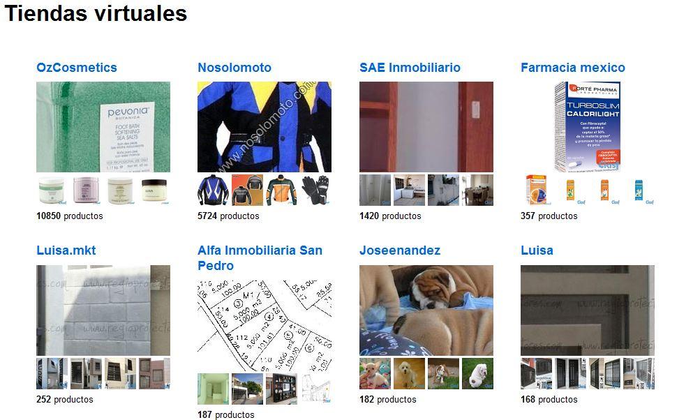 Tiendas virtuales en Clasf México