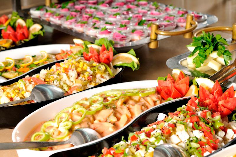 Cómo elegir el banquete para una fiesta
