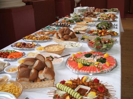 Banquete para fiesta