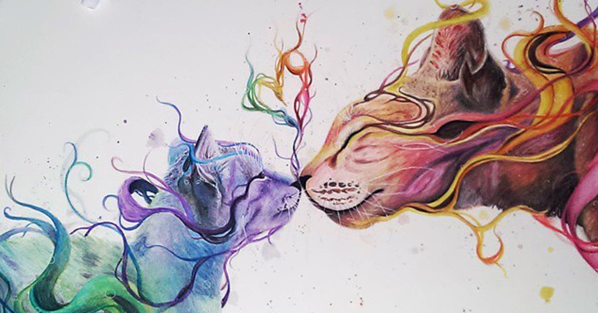 El arte es algo que se lleva en las venas